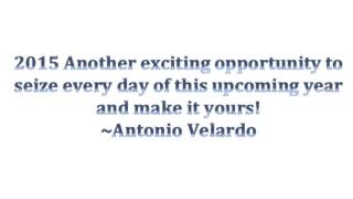 [Antonio Velardo telling you to go for it] Video