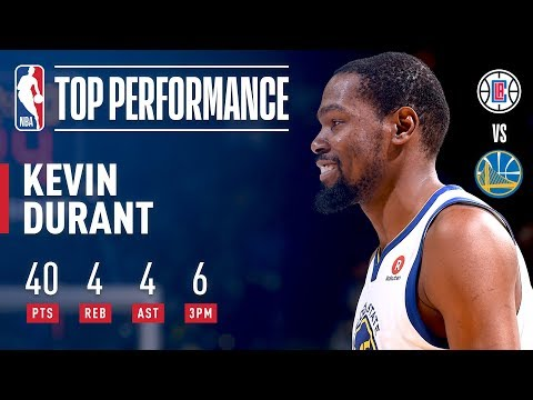 Kevin Durant Reaches 20,000 Career Points