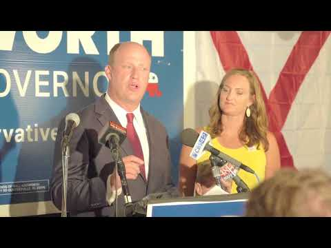 Will Ainsworth speaks after winning Republican nomination for Lt. Governor