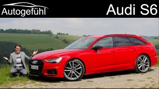all-new Audi S6 FULL REVIEW 2020 - Autogefühl
