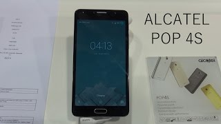 ALCATEL POP 4S, Review en el MWC16