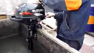 регулировка клапанов на лодочном моторе сузуки 2.5