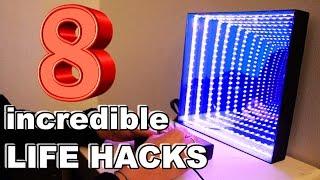 8 Incredible DIY LifeHacks and Gadgets!