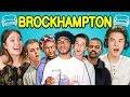 TEENS REACT TO BROCKHAMPTON (ft. Laurie Hernandez)