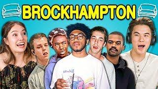 Download Lagu TEENS REACT TO BROCKHAMPTON (ft. Laurie Hernandez) Gratis STAFABAND