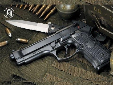 Обзор страйкбольного пистолета Beretta m9