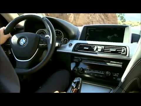2012 BMW 6 Series Coupe driving scenes