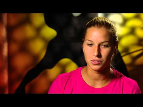 Dominika Cibulkova interview (QF) - Australian Open 2015