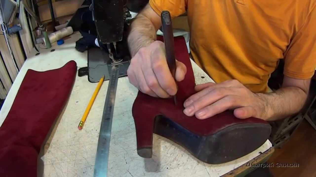 Как клеить обувь в домашних условиях 196
