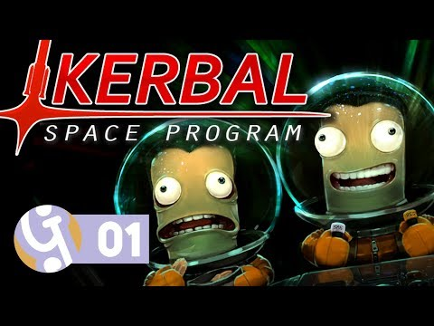 🚀 One Giant Derp For Mankind | Let's Play Kerbal Space Program #01