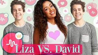 Liza Koshy and David Dobrik Musical.ly Compilation 2017 | Cute Couple Musically