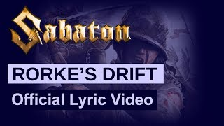 SABATON - Rorke's Drift (Official Lyric Video)