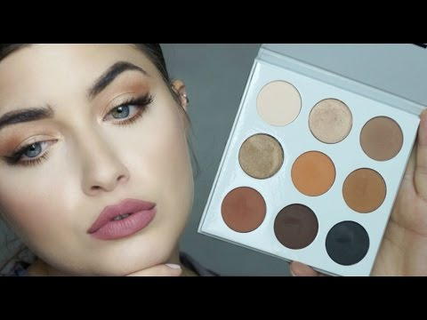 Kylie Jenner Eyeshadow Palette Review & Tutorial