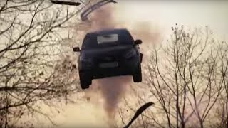 Launching a Car With An Air Cannon| Top Gear
