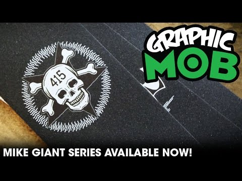 Mike Giant Series: Graphic MOB Grip | Talkin' MOB