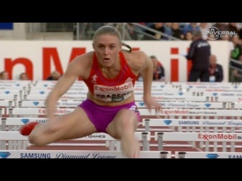 Sally Pearson runs 12.49 at 2012 Oslo Bislett Diamond League