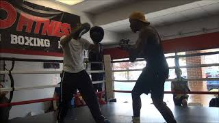 Tevin Farmer Media Workout
