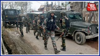 Download One Army Major injured In Ongoing Encounter In Pulwama :Shatak Aaj Tak 3Gp Mp4