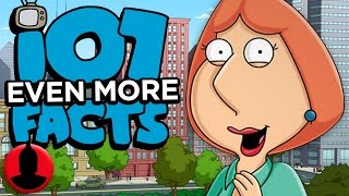 107 Even MORE Family Guy Facts - Family Guy Week! (ToonedUp #189) | ChannelFrederator