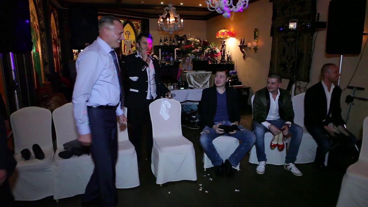 Конкурс с тарелками на свадьбе