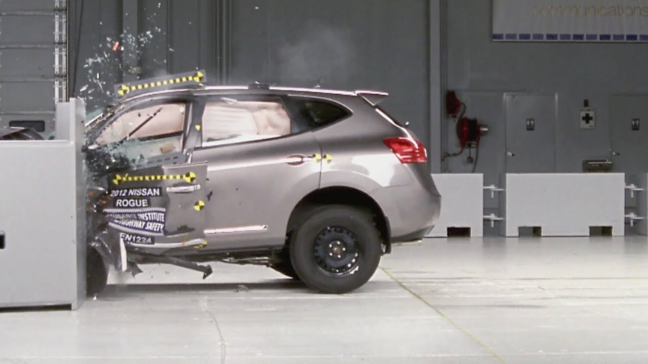 Crash Test 2012 Nissan Rogue Youtube