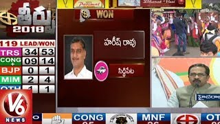 BJP Leader Krishna Saagar Rao Congratulates TRS Party Over Triumph In Assembly Polls