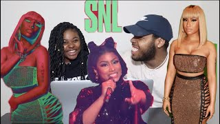 Nicki Minaj Chun Li Live On Snl 2018 Reaction
