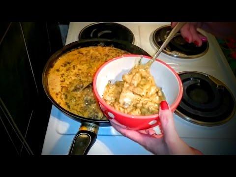 Бефстроганов из говядины Рецепт Что как приготовить ужин домашние классический быстро вкусно видео