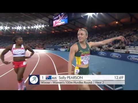 Sally Pearson winning heat