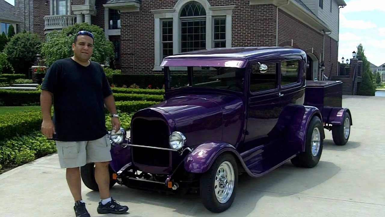 1929 ford model a custom streed rod classic muscle car for sale in mi vanguard motor sales youtube Ford motor auto sales