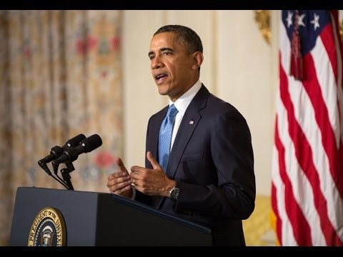 President Obama Makes a Statement on Iran