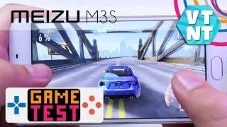Meizu M3s. Тест Игр