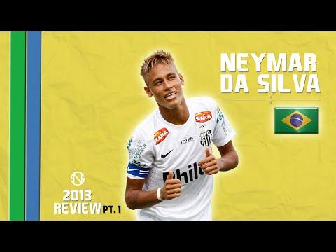 NEYMAR | All Goals & Assists | Santos - Brazil | 2013 (HD)