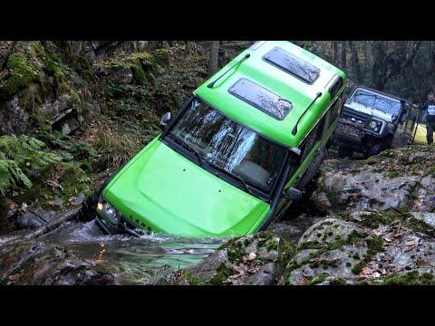 Land Rover Discovery TD5 - YEŞİL - Ağva 2019 - Extreme OFF ROAD / Rocks 4K HD