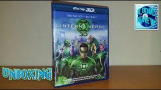 Unboxing: Linterna Verde Bluray 3D