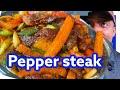 How to prepare Jamaican Pepper steak style?  #ChefRicardoCooking!! #Thanksgivingday!!
