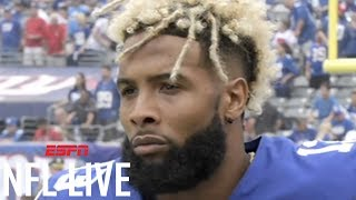 Odell Beckham Jr. has made a 'good faith effort' by being at Giants' minicamp | NFL Live | ESPN