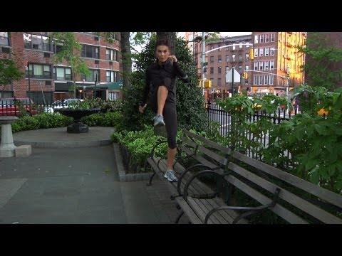 Squat &amp; Side Step Challenge | Everyday Health
