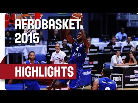 Cote d'Ivoire v Cape Verde - Game Highlights - Group D - AfroBasket 2015