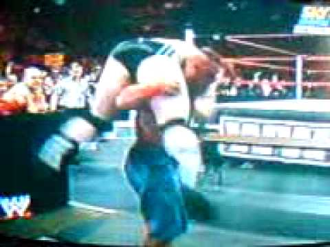John cena vs sheamus table match parte 2.3GP