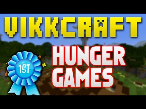 Minecraft Hunger Games #321 ETHANS 1ST TIME with Vikkstar Beh2inga