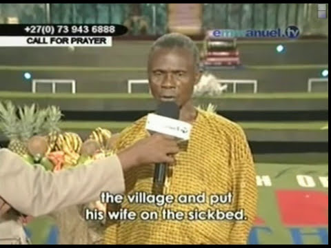 TB Joshua. Deliverance of village from the power of the idols
