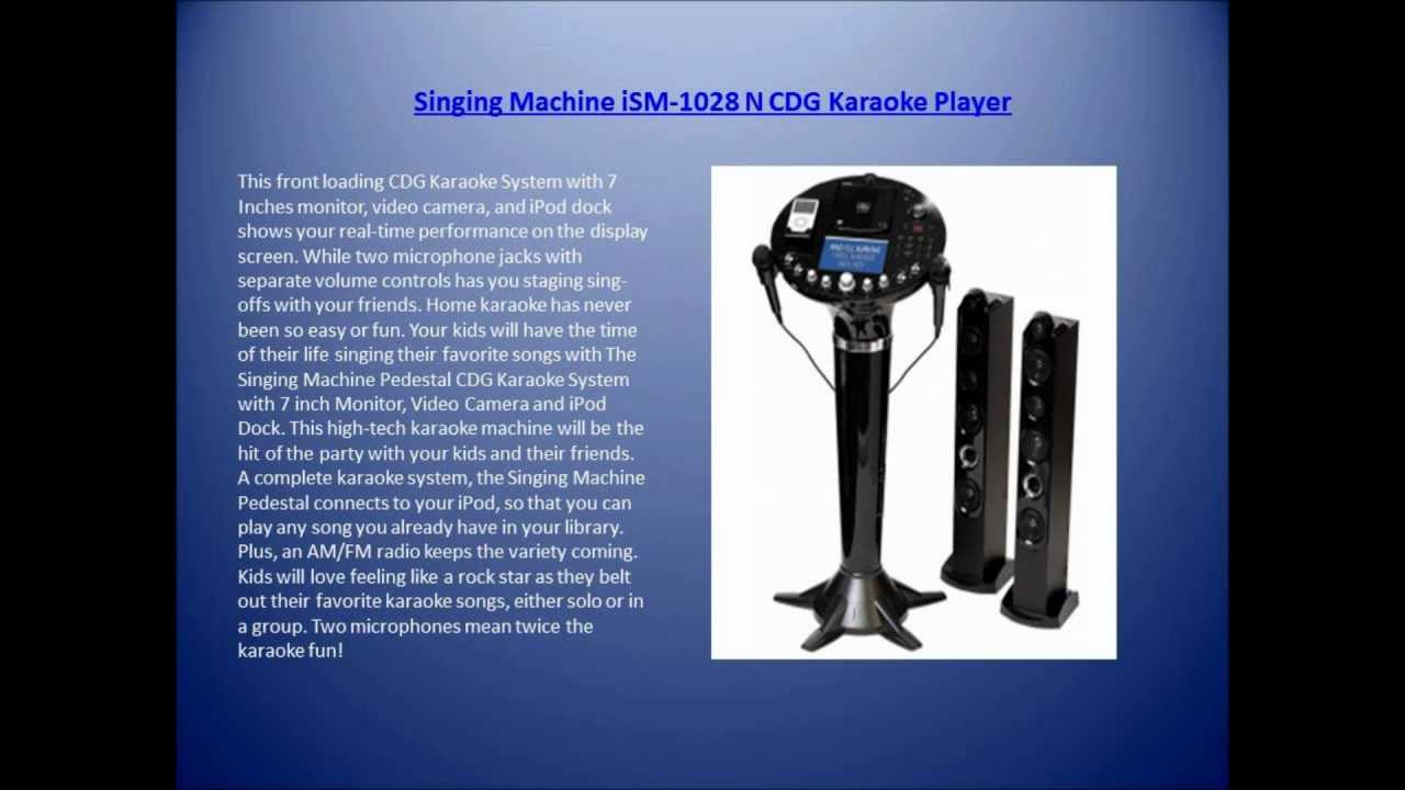 the singing machine ism 1028