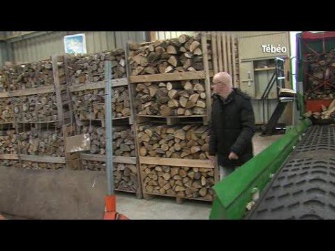 Un drive enti rement d di au bois de chauffage quimper youtube - Casier a bois de chauffage ...