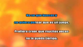 Que Estas Buscando - Axel   Karaoke