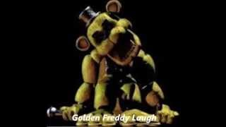 FNaF Golden Freddy Laugh *WARNING LOUD*
