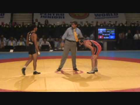 JUNIOR WORLD FS: Asgarov (AZE) dec. Stieber (USA), 60 kg finals
