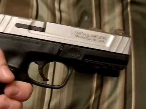 S&W SD40VE handgun review