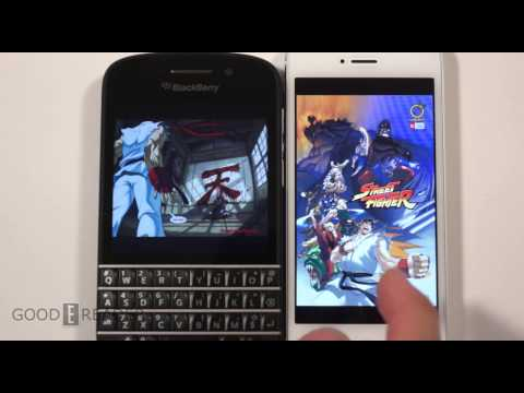 iPhone 5 vs Q10 Comparison