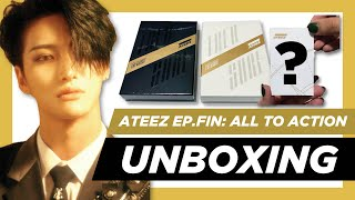 ✨[UNBOXING] ATEEZ 에이티즈- Treasure Ep.FIN: All To Action ~ A & Z ver.) ✨